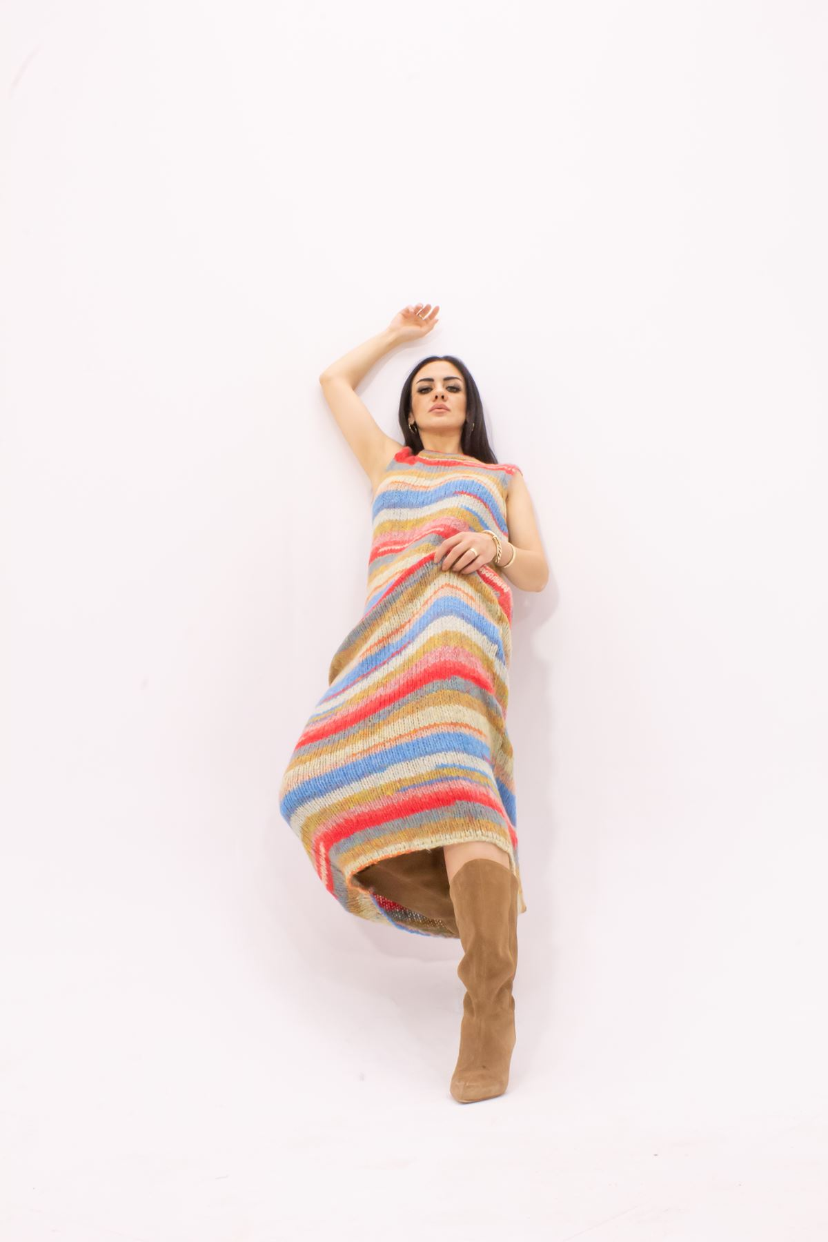 Orjinal Marka Mango Örme Elbise